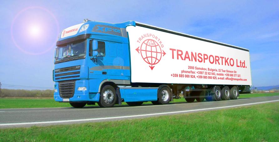 Колаж на камион